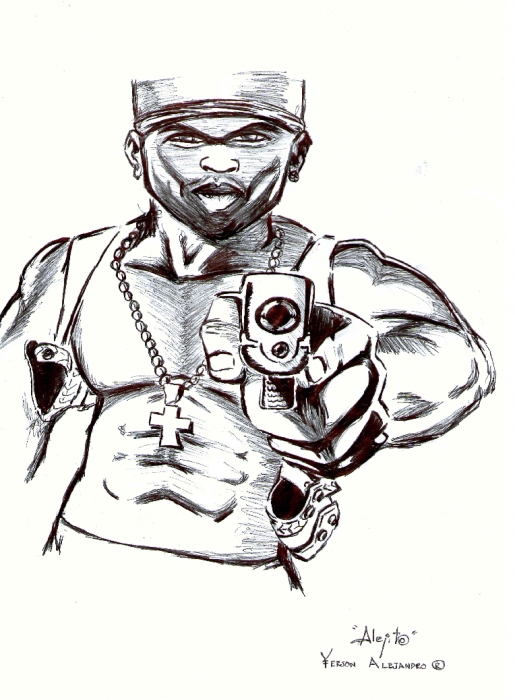 50 Cent by alehot13